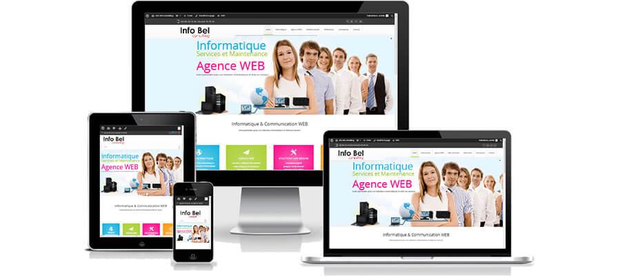 Creation De Site Internet Info Bel Consulting